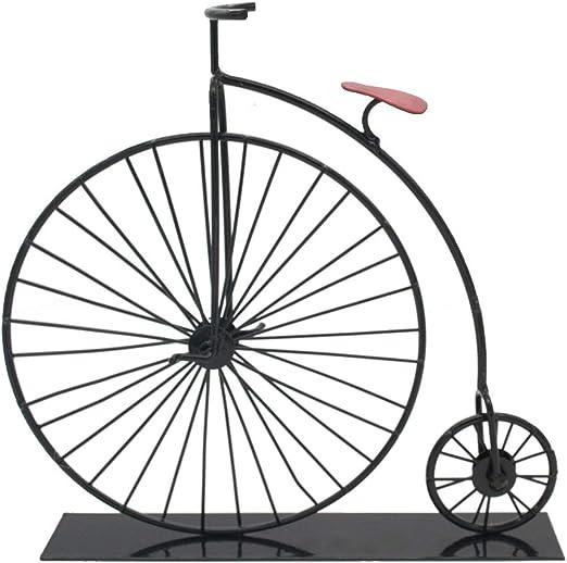 JJLESUN3 Manualidades Antiguas De Metal Modelo De Bicicleta Retro ...