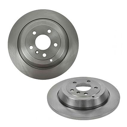 For Mercedes W163 ML320 Set of 2 Rear+2 Front Brake Disc Rotors w// Pads /& Sensor
