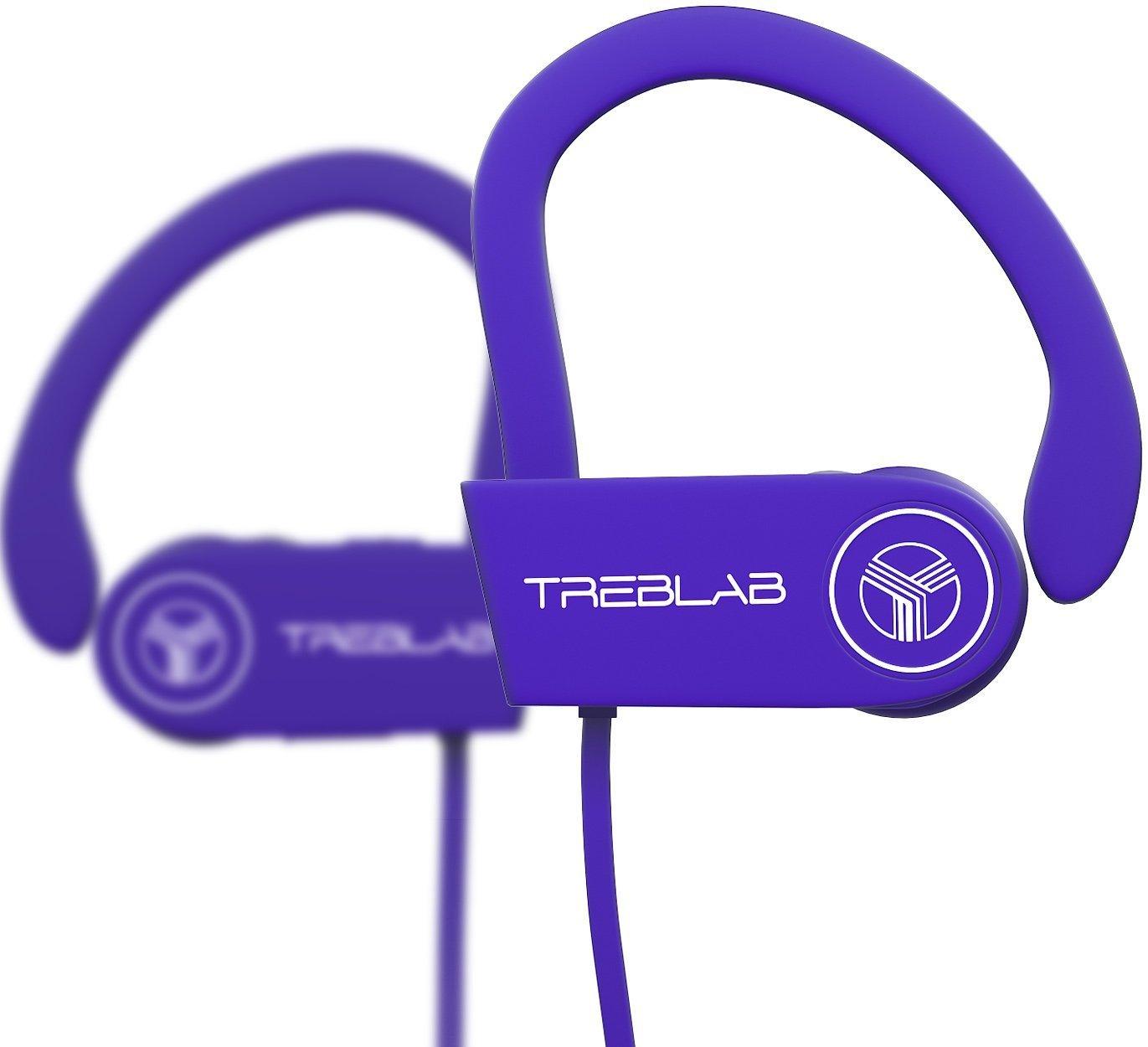 TREBLAB XR100 Auriculares con Bluetooth. Los mejores auriculares inalámbricos para deportistas de todo tipo. Tecnología IPX4, Waterproof, y a prueba de ...