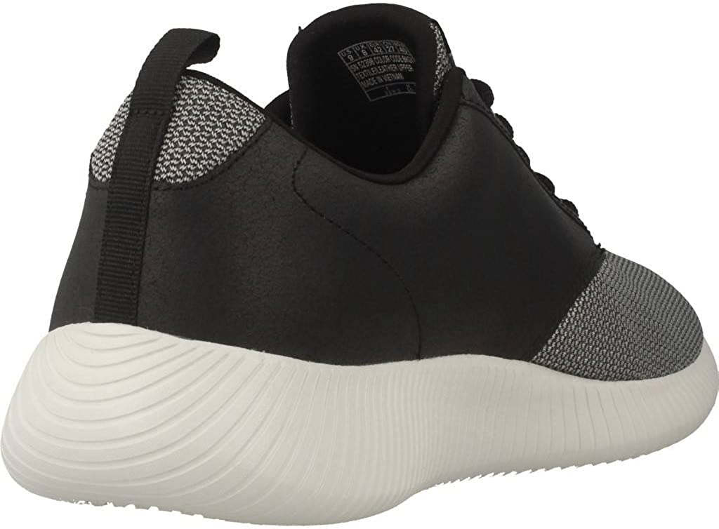 Skechers Men Navy 'Depth Charge' Lace Up Trainers Black Gray