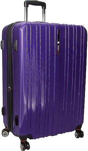 Traveler s Choice Tasmania 29 Exp Hardsided Spinner Suitcase in Purple
