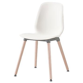 Zigzag Trading Ltd IKEA LEIFARNE - Silla Blanca/Abedul ernfrid ...