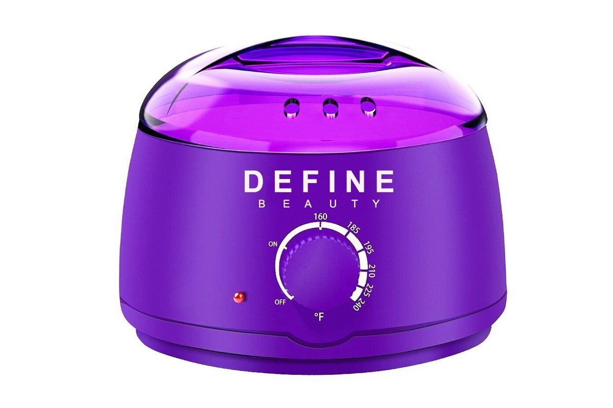 Define Beauty Professional Wax Warmer Kit (Purple)