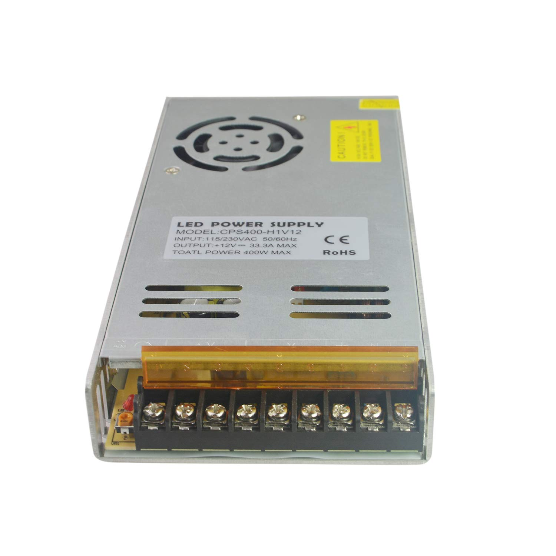 Dapenk Ultrad/ünner Aluminium-Innenraum mit Mesh CPS-Serie 100W Led Netzteil 12V Netzteil f/ür LED-Birnen-Streifen-Licht CPS100-W1V12