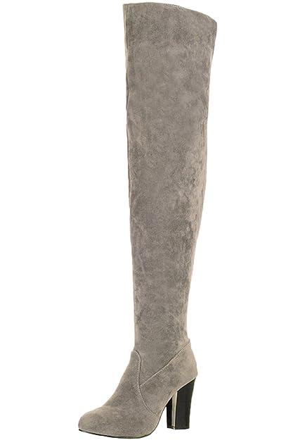 amazon cuissardes botte pour femme