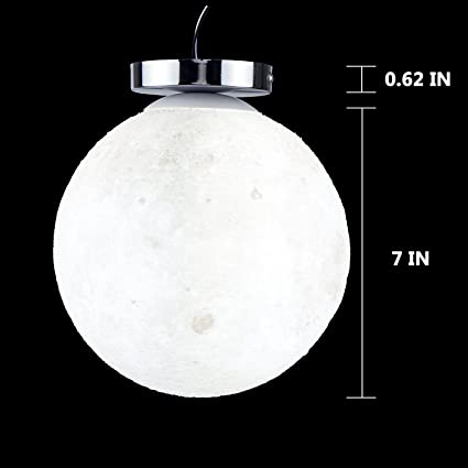 Haixiang 78 inch 3d moon ceiling light led lamp resin fixtures haixiang 78 inch 3d moon ceiling light led lamp resin fixtures lighitng kids room bedroom christmas aloadofball Image collections