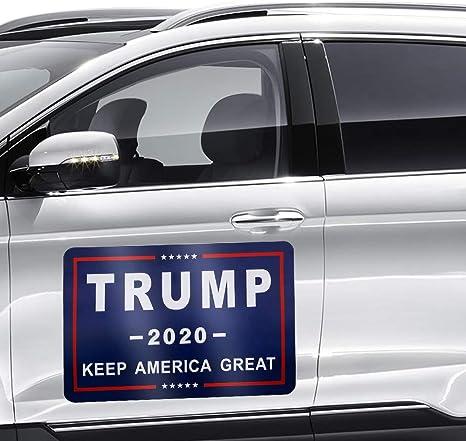 """Trump Bumper Sticker 2020 MAGA 6/"""" 10 Pack BLNE"""
