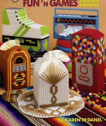 Funn Games (Plastic Canvas Fun' N Games Tissue Box Covers (#3103))