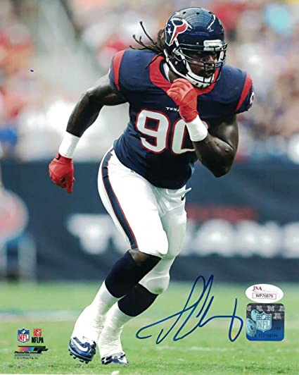 Jadeveon Clowney Autographed Signed Houston Texans 8x10 Photo JSA at ... 9430a7888