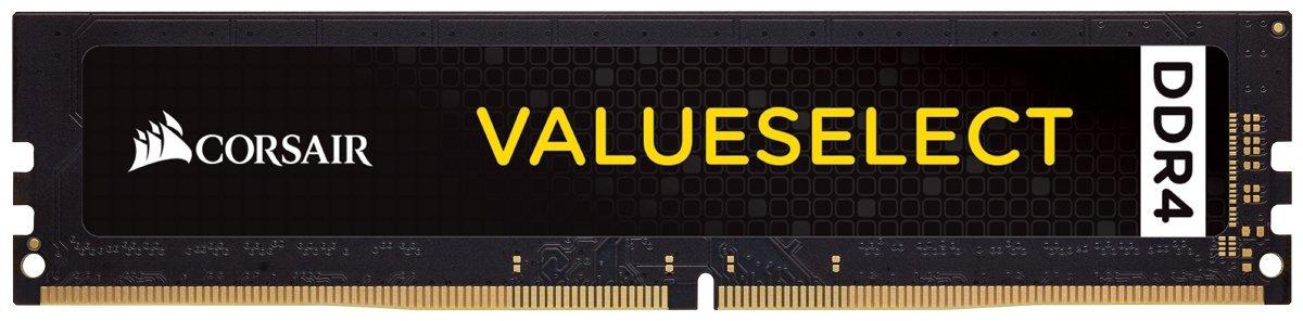 Memoria RAM 4GB Corsair CMV4GX4M1A2400C16 Value Select (1 x 4GB) DDR4 2400 C16 1.2V - Intel 7th Gen and AMD Ryzen