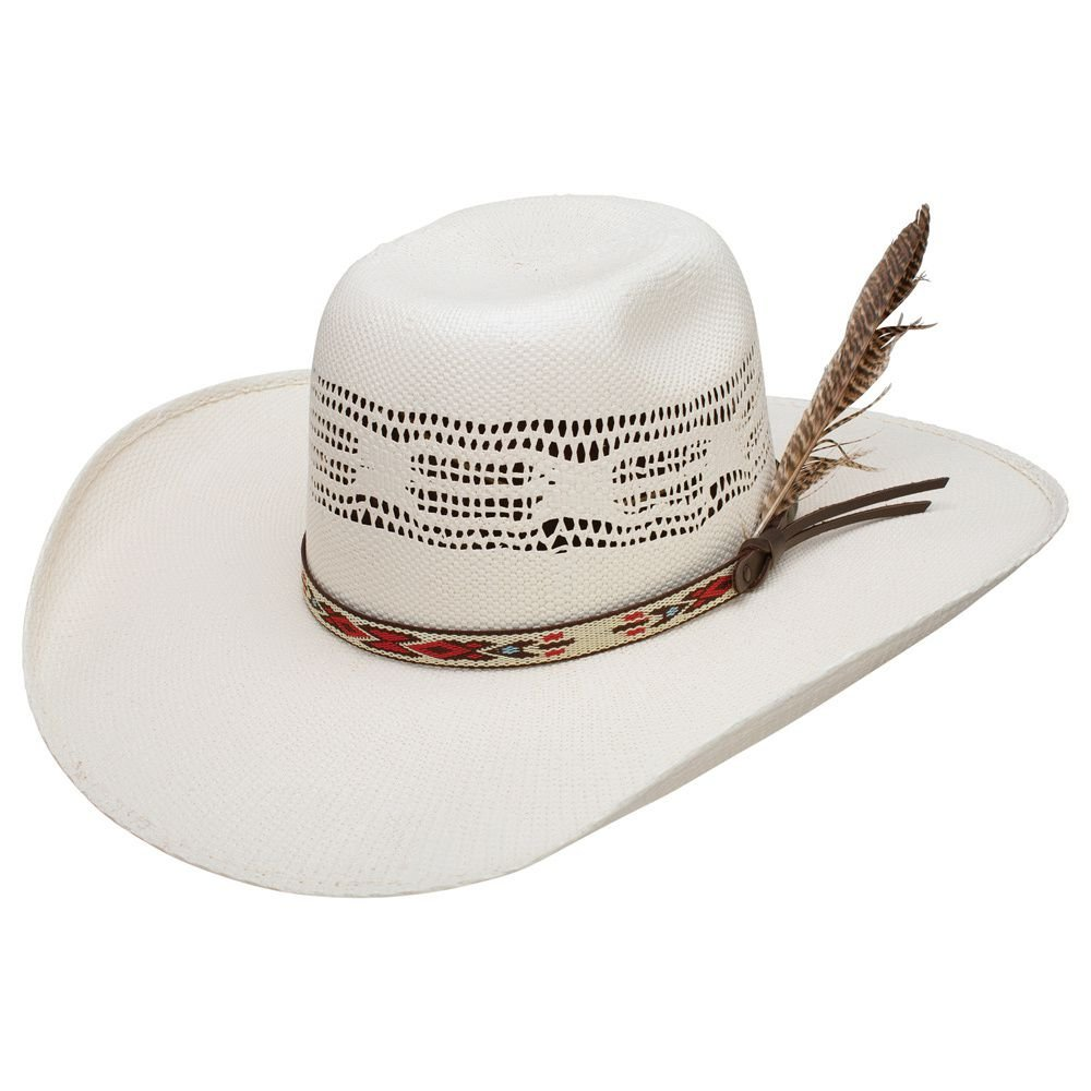 RESISTOL Boys Young Gun Jr 4 Brim Straw Cowboy Hat OS Natural