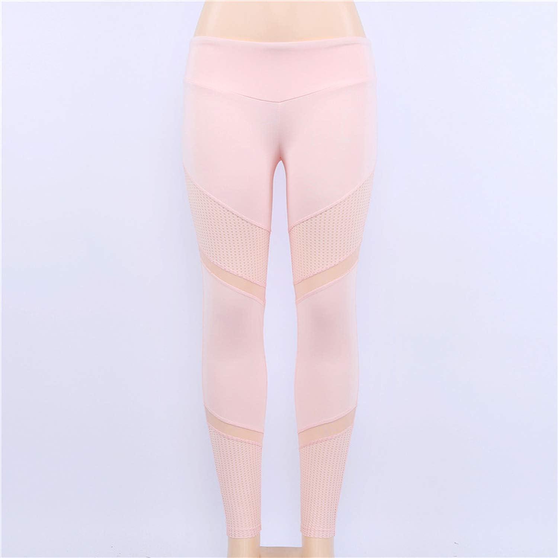 Women Pink Yoga Set Woman Female Leggings Sports Bra Sport Outfit S L