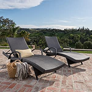61a8vGZpegL._SS300_ 50+ Wicker Chaise Lounge Chairs