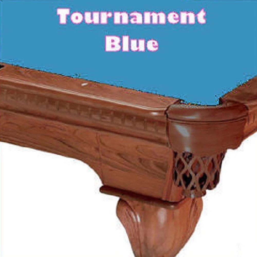 10 'シモニスクロス760 TournamentブルービリヤードPool Table Clothフェルト B00GP2EFLM