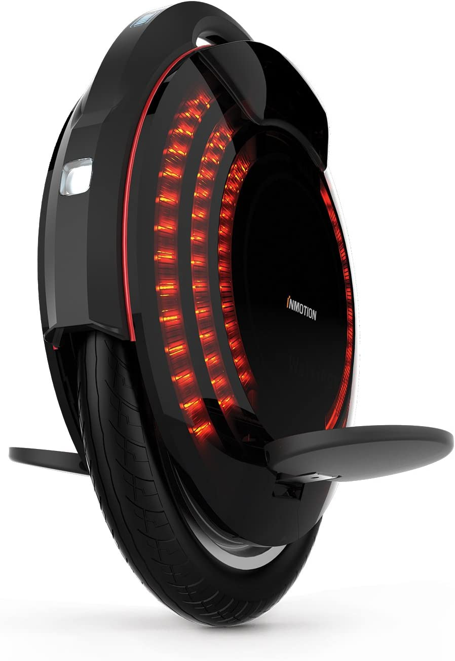 InMotion V8 Monociclo eléctrico, Unisex-Adult, Negro, 53,8 x 46,2 x 14,8 cm