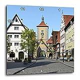3dRose Bavarian Town Main Street Wall Clock, 10×10 Review