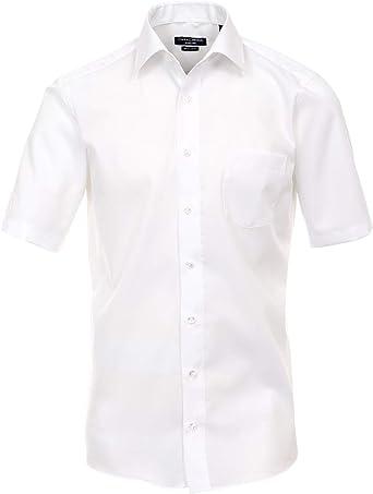 CASA MODA 008070/0/46 - Camisa para Hombre, Color Blanco, Talla 48