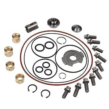 carbole POWERSTROKE 6.0L Duramax (6,6 L Turbo graves deber reconstruir Kit de reparación GT37 V: Amazon.es: Coche y moto