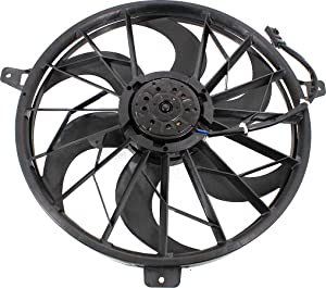 Cooling Fan Assembly Compatible with JEEP GRAND CHEROKEE 2004 Fan/Motor 4.0L Engine