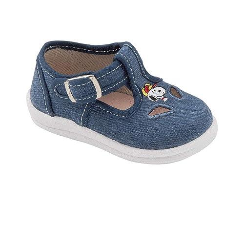 obtenir de nouveaux site web pour réduction clair et distinctif Snoopy-Chaussure Toile Enfant Semelle Cuir 9012214-26 ...