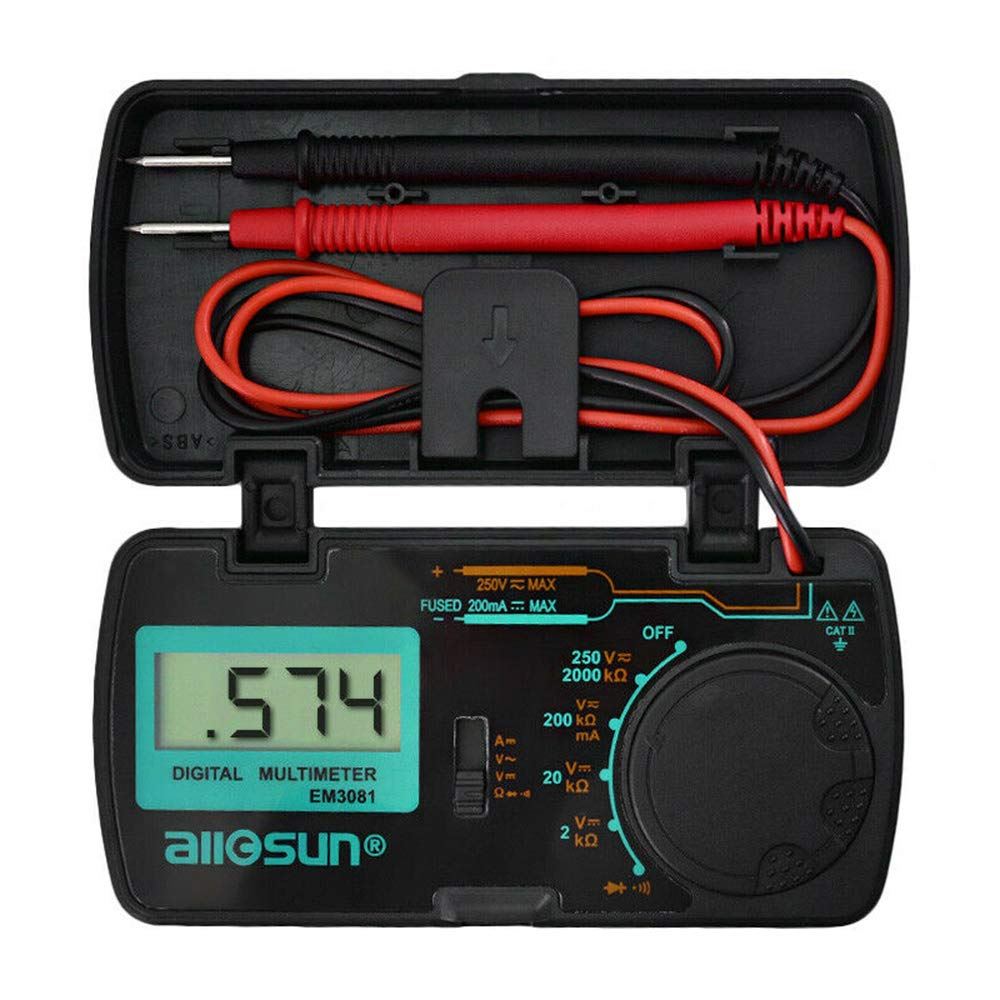 All-Sun EM3081 Autorange Digital Multimeter 3 1//2 1999 Low Battery Indication Overload Protection MULTIMETER Automotive Tester