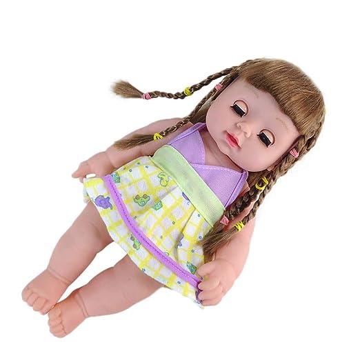 Amazon.com: Xeduo - Muñeca de bebé de 10 pulgadas, suave ...