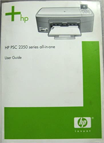 HP PSC 2350 SERIES ALL-IN-ONE DRIVER DOWNLOAD