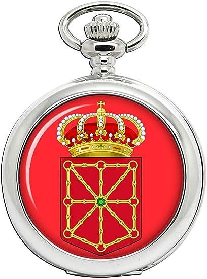 Navarra Navarra (España) Reloj Bolsillo Hunter Completo: Amazon.es: Relojes