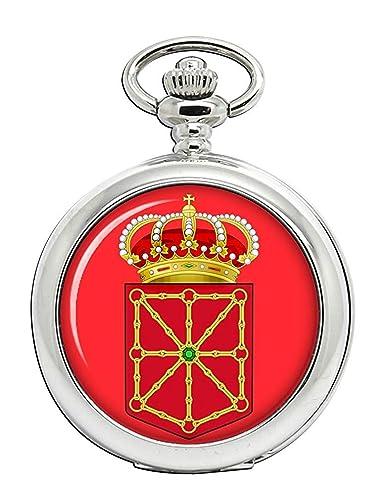 Navarra Navarra (España) Reloj Bolsillo Hunter Completo: Amazon.es ...