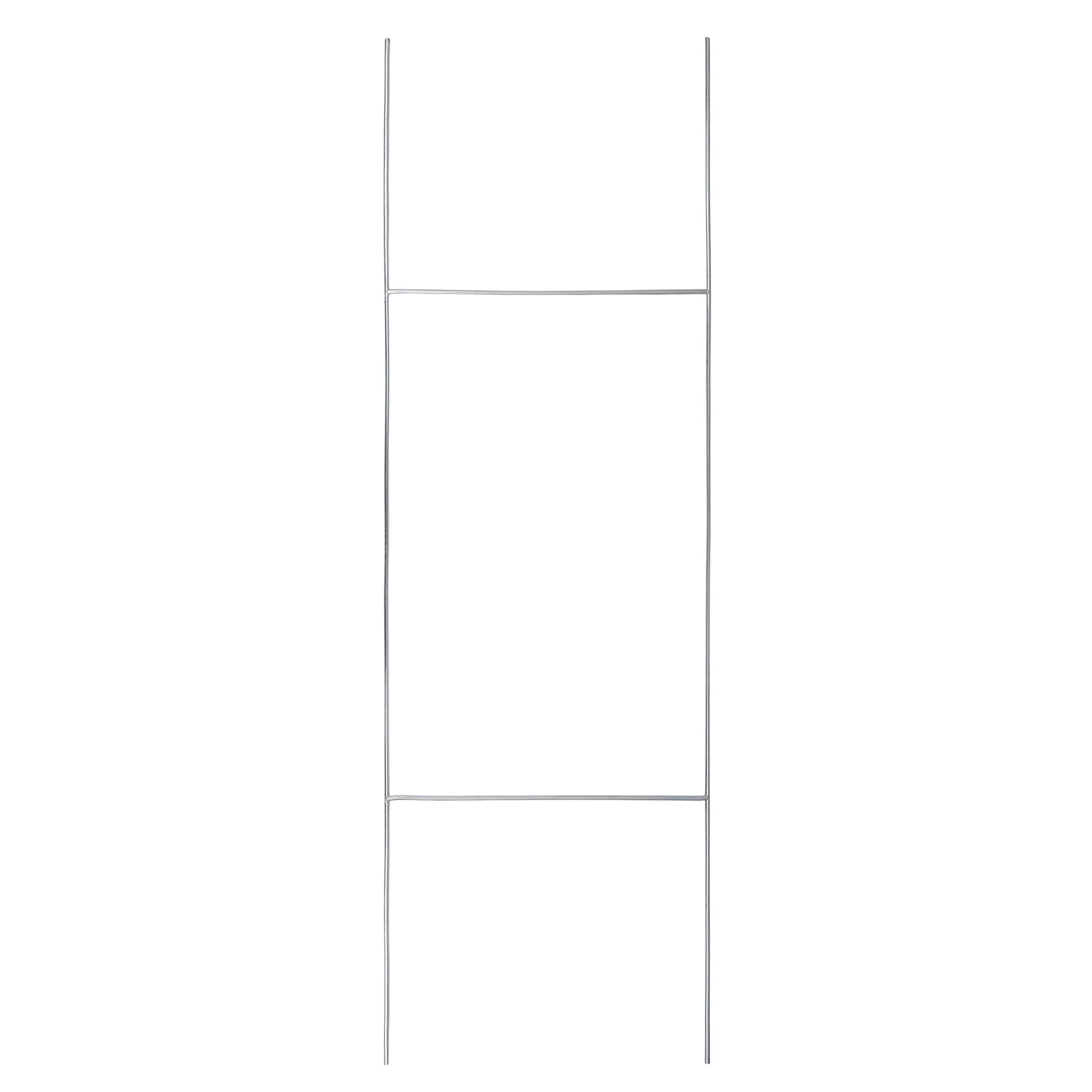 TN Supplies Yard Sign H Stakes 30''x10'' - Wire Stake for Yard Signs, Metal Frame Lawn Stands, Outdoor Political Campaign and Real Estate Sign Holder, H Bracket Step Frames, Visibility Signage Holders