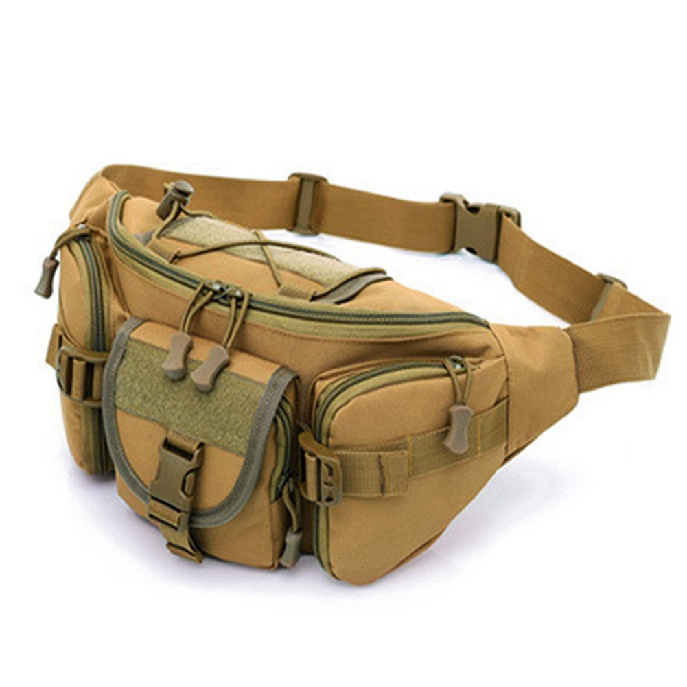 60%OFF Outdoor Shoulder Military Tactical Backpack Camping Travel Hiking Trekking Waist Bag