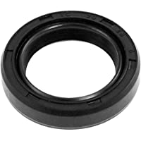 uxcell Oil Seal TC 115mm x 140mm x 14mm Nitrile Rubber Cover Double Lip with Spring for Automotive Axle Shaft Black Pack of 1