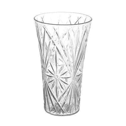 amazon com royal imports flower acrylic vase decorative centerpiece rh amazon com