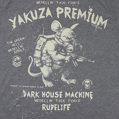 Yakuza Premium T-Shirt YPS 2303 grau