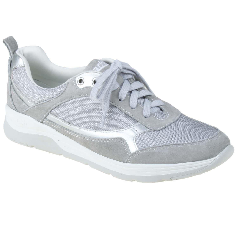 Earth Women's Traveler Sneaker Suede/Mesh B00N9H55SS 5.5 B(M) US|Smoky Grey