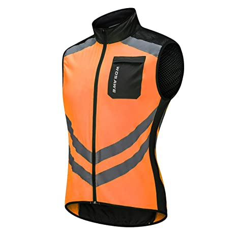 BL208-O Ciclismo Running Ultra Ligero Chaleco Impermeable ...