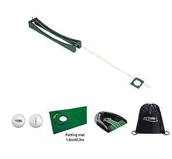 POSMA PG090H - Juego de Pelotas de Golf para Entrenamiento de Pista Larga (2 Unidades