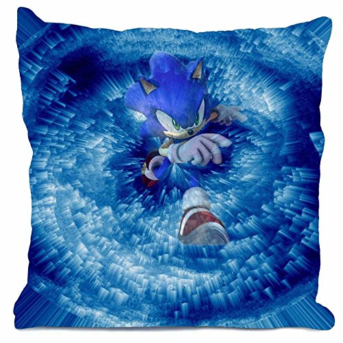 Timzhi Trade New Arrival Custom Pillow Case Sonic The Hed...