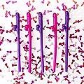 Bachelorette Party Pecker Straws + Pecker Confetti - 30 Straws - Naughty Adult Party Supplies
