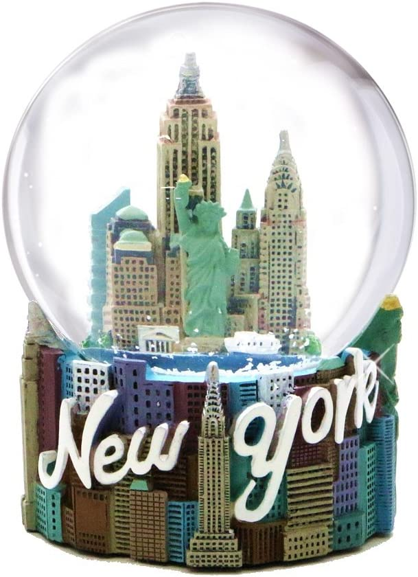 New York City Snow Globe (3.5 Inches), from Skyline NYC Snow Globes Collection