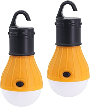 portable led super bright camping lantern tent fishing outdoor lamp light PUULK