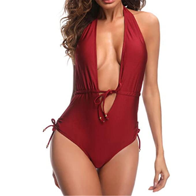 e21bdc82c463b Image Unavailable. Image not available for. Color: iYTfMtlm One-Piece  Swimsuits Woman Sexy Women Swimsuit Push up ...