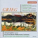 Grieg: Symphonic Dances/ Orchestral Songs/ Sigurd Jorsalfar