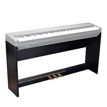 Soporte y 3 Pedalera armario para Yamaha P85 P95 P105 Digital de teclado de piano