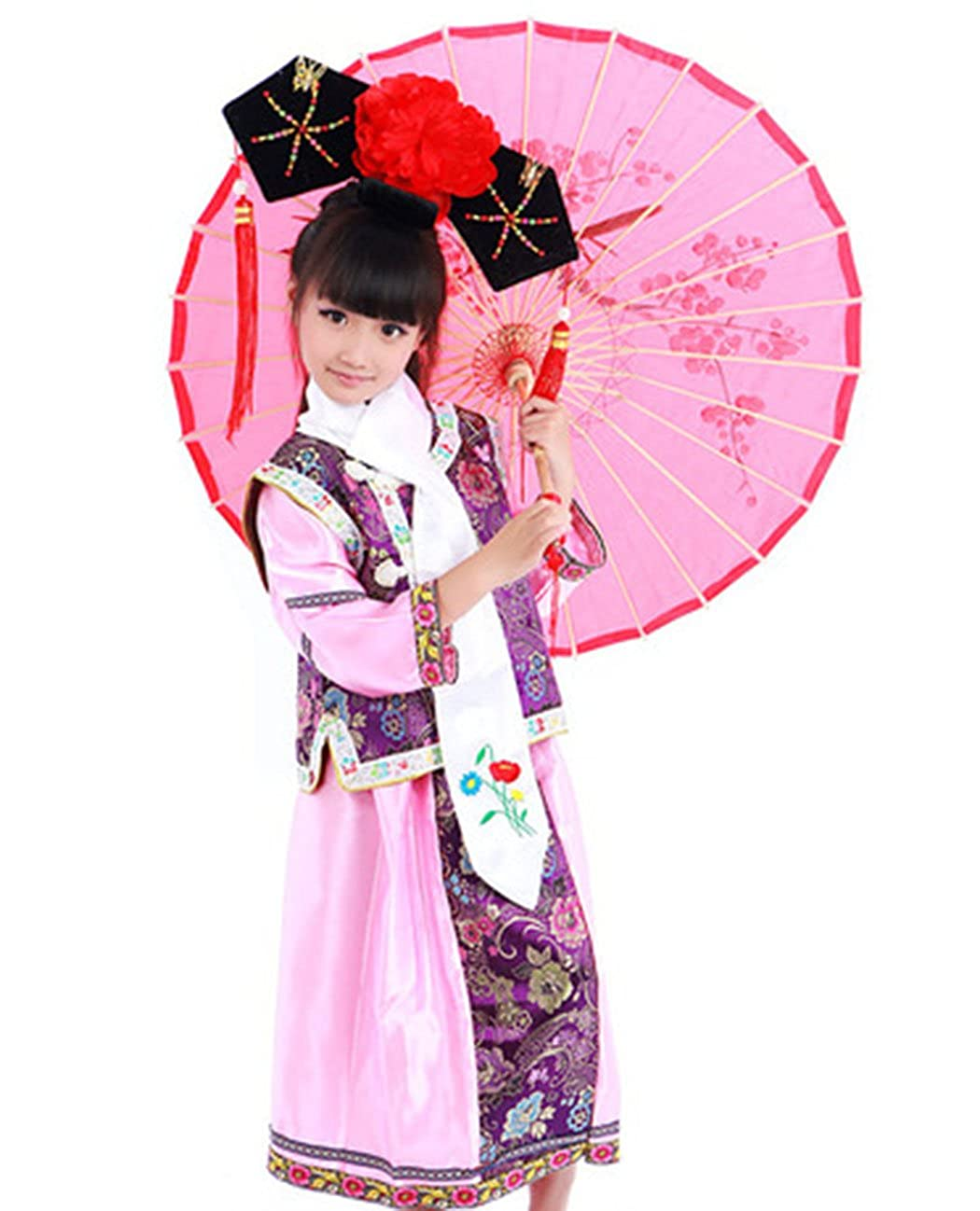 Bysun Chinese little GEGE girlss Stage cosplay (No Hat)