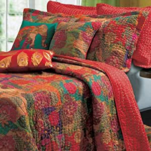 Full Bed Quilt Sets Red