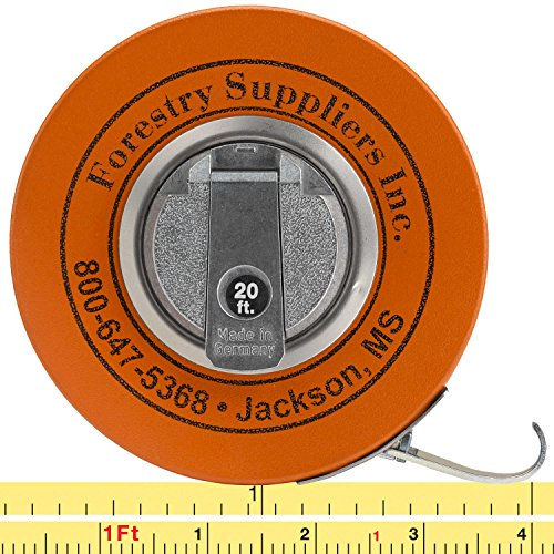 Forestry Suppliers English Fabric Diameter Tape