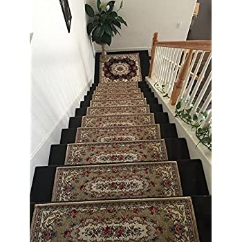 Acrylic Non Slip Stair Runners Rug Stair Treads Carpet