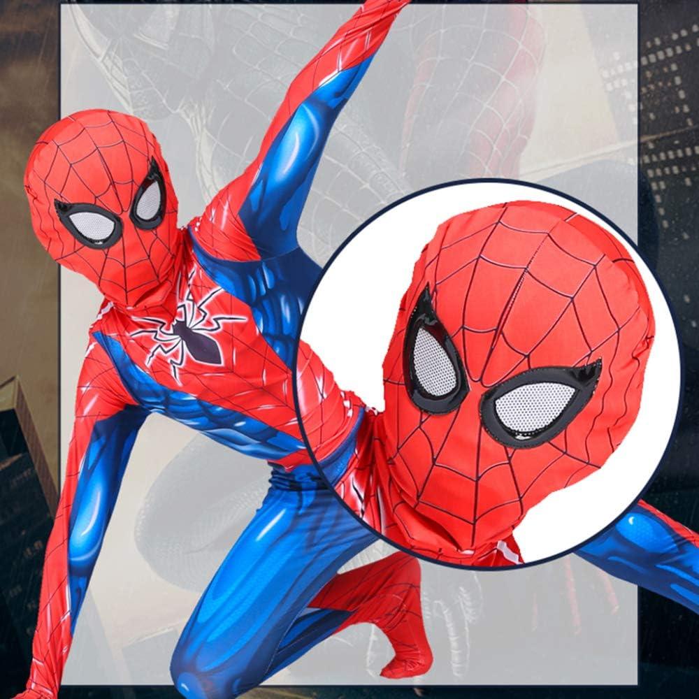 ZHANGQI Traje De Cosplay De Spider-Man Impresión 3D Anime Medias ...