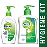 Dettol Sanitizer - 200 ml and Dettol Original Handwash - 200 ml